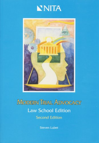 9781556819247: Modern Trial Advocacy, Law School Edition