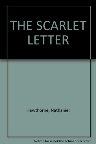 The Scarlet Letter (Classic Books on Cassettes Collection) [UNABRIDGED] (1556853416) by Hawthorne, Nathaniel