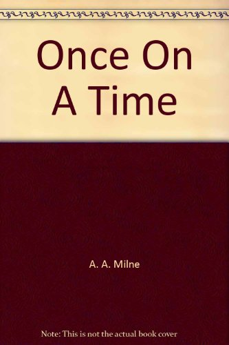 9781556853708: Once On A Time (Classic Books on Cassettes Collection) [UNABRIDGED]