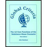 9781556912047: Global Criteria: The 12 Core Functions of the Substance Abuse Counselor