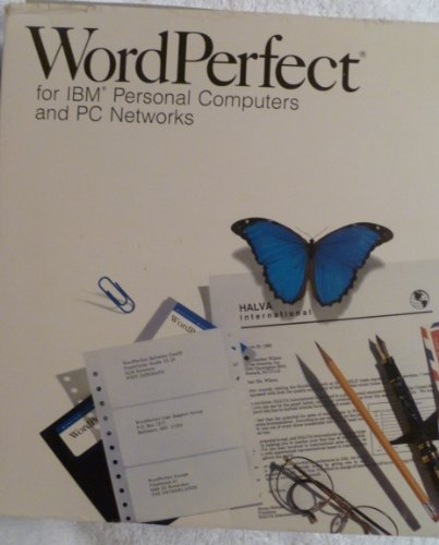 9781556923647: WordPerfect 5.1 for IBM Personal Computer and PC Networks Reference Manual