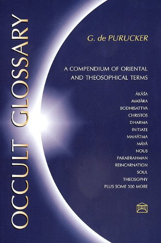 9781557000507: Occult Glossary: A Compendium of Oriental and Theosophical Terms