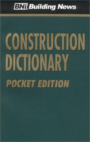 Construction Dictionary, Pocket Edition: News, Bni Building