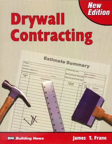 Drywall Contracting: Frane, James T.