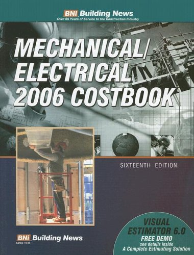 9781557015228: Building News Mechanical/Electrical Costbook