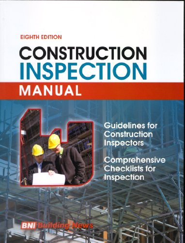 9781557016423: Construction Inspection Manual