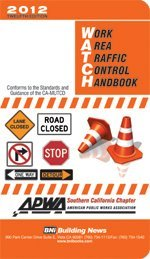 9781557017550: 2012 Work Area Traffic Control Handbook