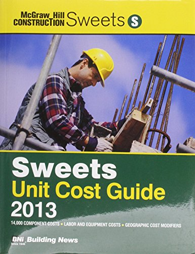 Sweets Unit Cost Guide 2013: Bni Building News
