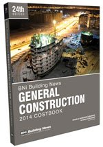 9781557017895: BNI Building News General Construction Costbook
