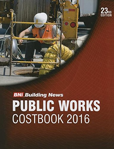 9781557018786: 2016 Bni Public Works Costbook