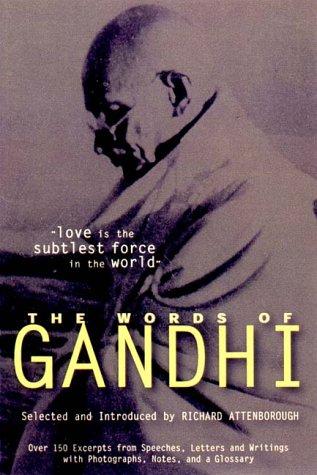 9781557042903: The Words of Gandhi (Words of Series)