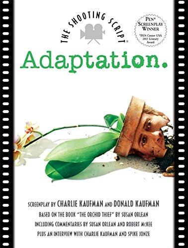 9781557045805: Adaptation: The Shooting Script (Shooting Script Ser)
