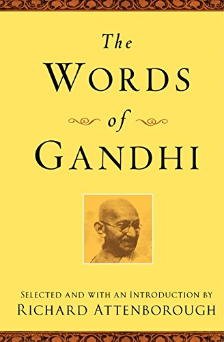 9781557048073: The Words of Gandhi: Second Edition (Newmarket Words Of Series)
