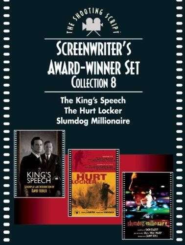 Screenwriter's Award-Winner Set, Collection 8: The King's Speech, The Hurt Locker, Slumdog Millionaire (Newmarket Shooting Script) (1557049955) by David Seidler; Mark Boal; Simon Beaufoy