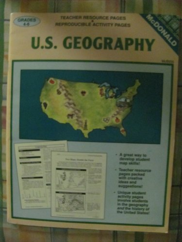 U.S. Geography: Teacher Resource Pages & Reproducible: Lorraine Sintetos