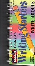9781557087928: Writing Starters Write-Abouts Grades 4-8