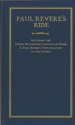 9781557090720: Paul Revere's Ride (Little Books of Wisdom)
