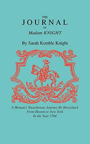 9781557091154: Journal of Madam Knight