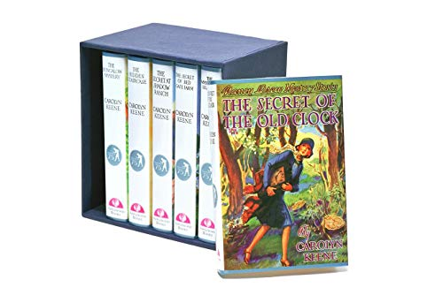 9781557091543: The Secret of the Old Clock/The Hidden Staircase/The Bungalow Mystery/The Mystery at Lilac Inn/The Secret of Shadow Ranch/The Secret of Red Gate Farm (Nancy Drew, Book 1-6) (75th Anniversary Gift Set)