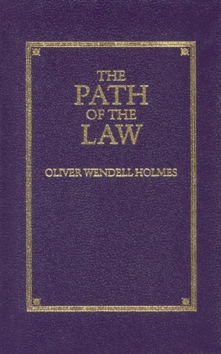 Path of the Law (Little Books of: Oliver Wendell Holmes