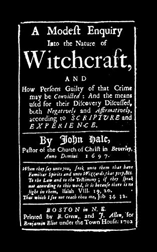 9781557091826: Modest Enquiry into the Nature of Witchcraft