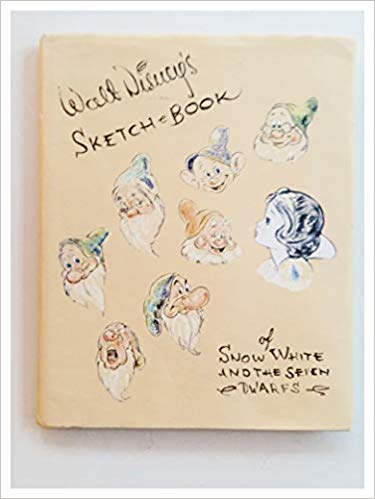 Walt Disney's Sketch Book of Snow White and the Seven Dwarfs (9781557092076) by Walt Disney