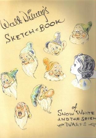 Walt Disney's Sketch Book of Snow White: Company, Walt Disney