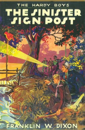 9781557092731: The Sinister Signpost (Hardy Boys, Book 15)
