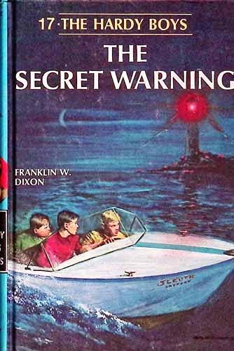 9781557092854: The Secret Warning (Hardy Boys, Book 17)