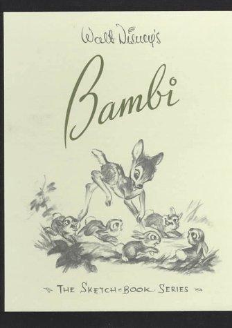 9781557093424: Walt Disney's Bambi: The Sketchbook Series