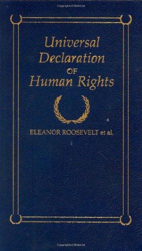 Universal Declaration of Human Rights (Hardback): Eleanor Roosevelt