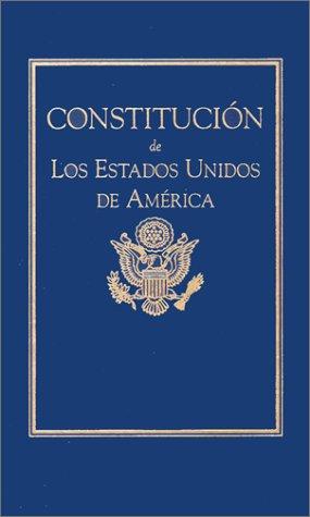 9781557094599: Constitucion de Los Estados Unidos (Little Books of Wisdom) (Spanish Edition)