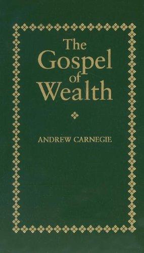9781557094711: Gospel of Wealth (Little Books of Wisdom)
