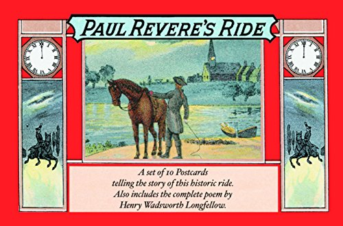 9781557094889: Paul Revere's Ride (Old-Fashioned Postcard Books)