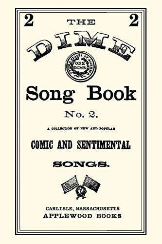 9781557095527: Dime Song Book #2 (Beadle's Dime Novels)