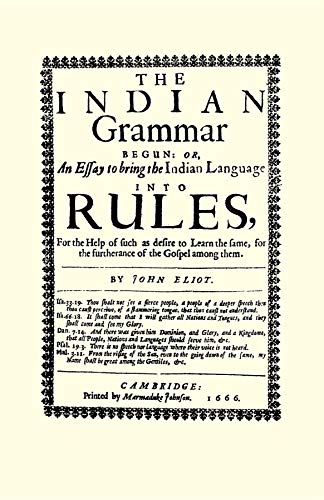 9781557095756: Indian Grammar Begun: or, an essay to bring the Indian language into rules