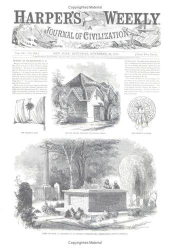 Harper's Weekly November 24, 1860 (Miscellaneous Print): Harper's Weekly Staff