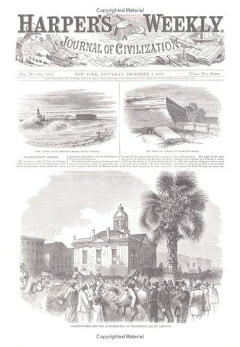 Harper's Weekly December 1, 1860 (Miscellaneous Print): Harper's Weekly Staff