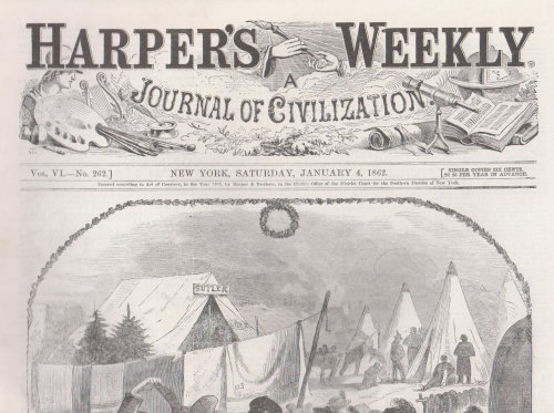 Harper's Weekly January 4, 1862