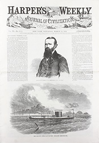 Harper's Weekly March 22, 1862 (Miscellaneous Print): Harper's Weekly Staff