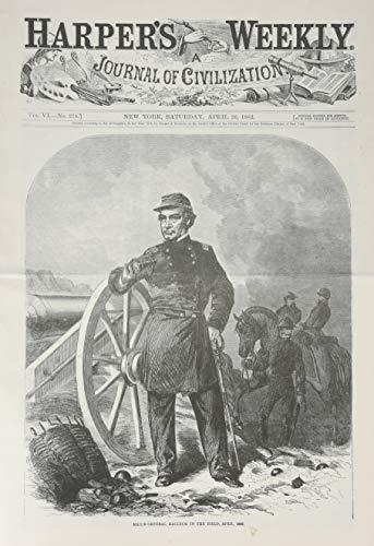 Harper's Weekly April 26, 1862 (Miscellaneous Print): Harper's Weekly Staff