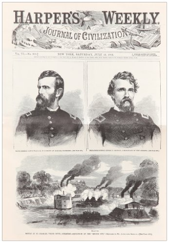 Harper's Weekly July 12, 1862 (Miscellaneous Print): Harper's Weekly Staff