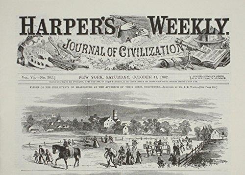 Harper's Weekly October 11, 1862 (Miscellaneous Print): Harper's Weekly Staff