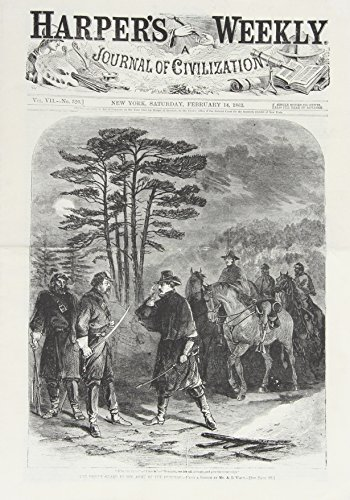 Harper's Weekly February 14, 1863 (Miscellaneous Print): Harper's Weekly Staff
