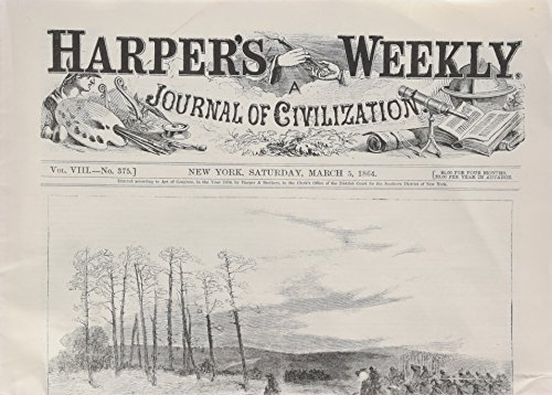 Harper's Weekly March 5, 1864