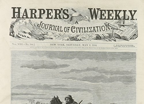 Harper's Weekly May 7, 1864 (Miscellaneous Print): Harper's Weekly Staff