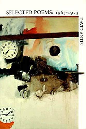Selected Poems: 1963-1973: Antin, David