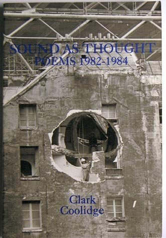 9781557130655: Sound As Thought (New American Poetry Series)