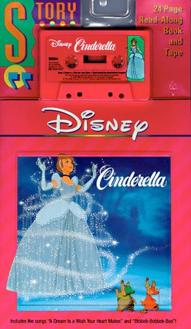 9781557230072: Disney's Cinderella Read -Along Book & Tape