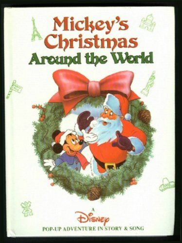 Mickey's Christmas Around the World Pop Up Book
